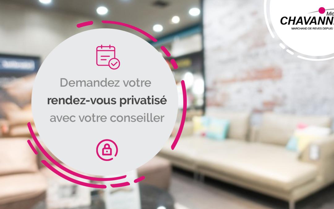 Info covid : votre RDV privé